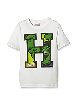 Marvel T-Shirt Manica Corta Applique Hulk