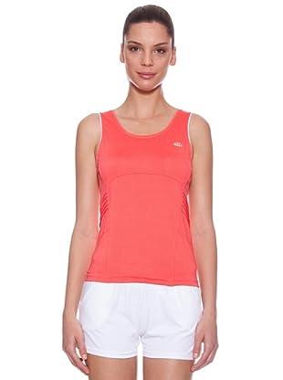 Ellese Camiseta Tenis Tank (Coral)