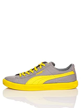 Puma Zapatillas Archive Lite Lo Washed Canvas (Gris / Amarillo)
