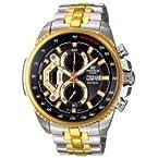Casio Analog-Black Dial EF-558SG-1AVDF Men's Watch