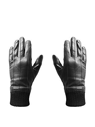 hi-Fun Guantes Para Tablet Y Smartphone Hi-Glove Leather Man Medium Negro