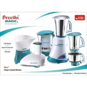 Preethi Mega Magic 600W Mixer Grinder - MG175