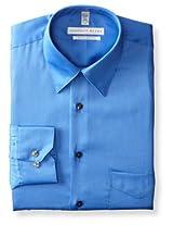Geoffrey Beene Men's Regular Fit Sateen Dress Shirt