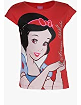 Princess Red Casual Top Disney Princess