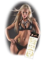 Gold Temporary Tattoos Package #1
