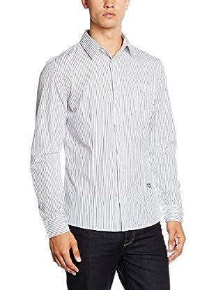 GUESS Camicia Uomo Pinstripe