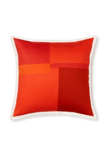 Tommy Hilfiger Mariners Cove Decorative Pillow, Red, 18