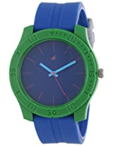 Fastrack Men's 3062PP17 Colorful Tees Analog Quartz Watch