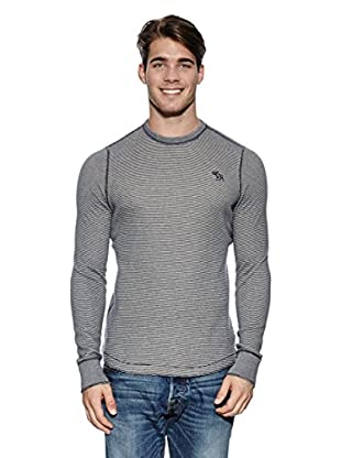 Abercrombie & Fitch Pullover Classic Crew (marine)