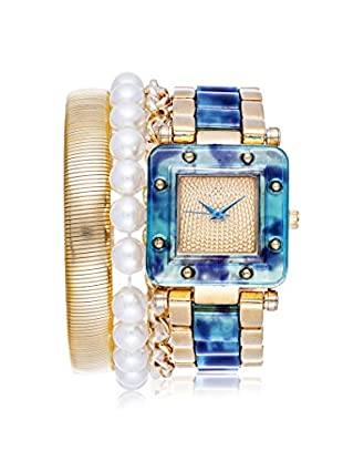 Arm Candy Women's NXS5297G-NB Blue/Gold Stainless Steel/Metal Watch
