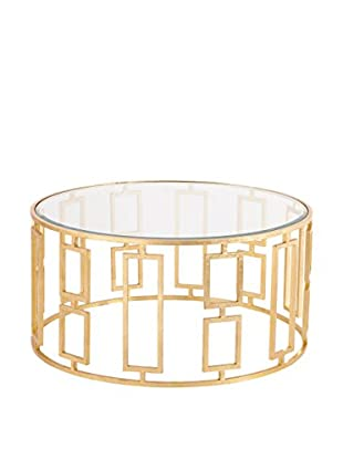 Sunset Blvd Coffee Table, Gold