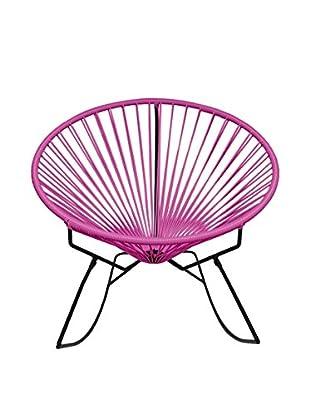 Innit Designs Innit Rocker, Pink/Black