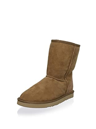 Australia Luxe Collective Women's Classic Cosy Short Pull-On Boot (Chestnut)