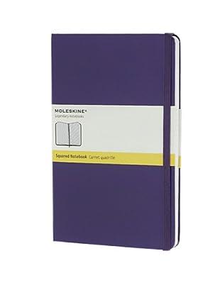Moleskine Cuaderno Notas Hojas Cuadriculadas Violeta