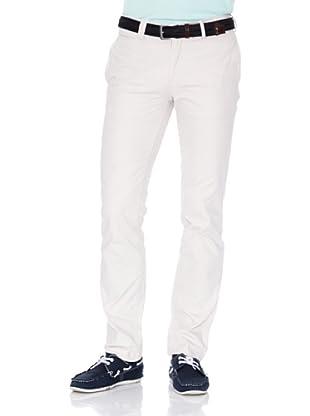 Cortefiel Pantalón China 047 Slim Ppt (Crudo)