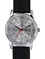 Maxima Attivo Analog Silver Dial Men's Watch - 21003LMGI