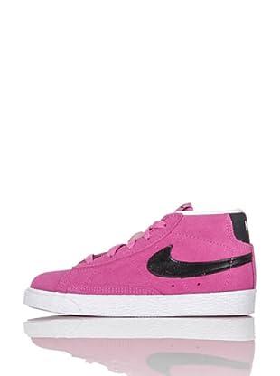 Nike Zapatillas Blazer Mid (Td) (Rosa/Negro)