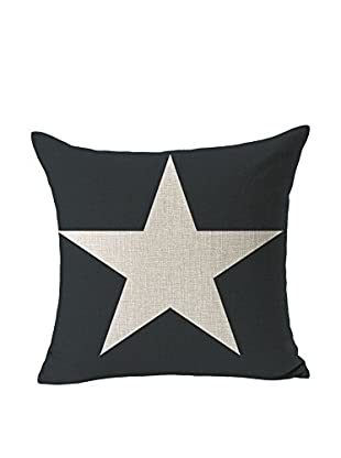 LO+DEMODA Kissenbezug Grey Star 45 x 45 cm