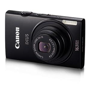 Canon IXUS 125 HS 4GB Digital Camera-Black