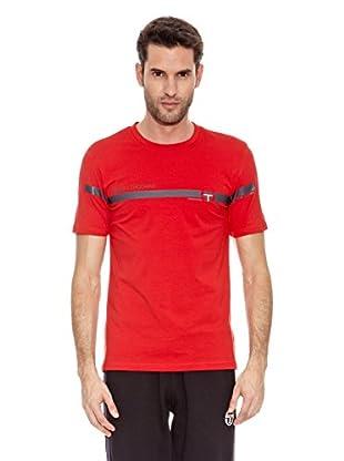 Sergio Tacchini Camiseta Manga Corta Unica Camiseta Manga Corta Unica (Rojo)