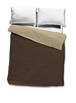 Pikolin Home Saco Nórdico 100% algodón (Chocolate)