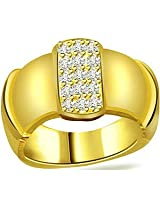 0.35 cts Diamond Wide Band Ring in 18k Gold