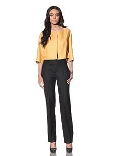 Chloé Women's Cropped Jacket (Yellow)