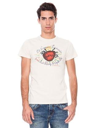 Guru T-shirt Vintage (Blanco)