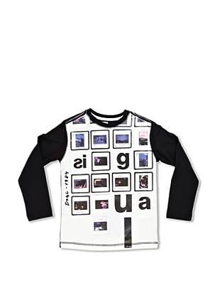 Desigual Camiseta Matacabras (Negro)