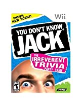 New You Dont Know Jack Wii (Videogame Software)