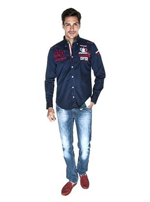 Giorgio Di Mare Camisa Ino (Azul Marino)