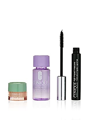 Clinique Beauty-Set High Impact Mask 7 ml + All About Eyes Gel 5ml + Day Off 30 ml