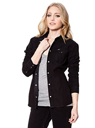 Lee Camisa Solid (negro)