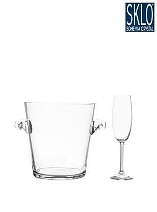 Cristal de Bohemia Juego 7 Piezas CH ampan