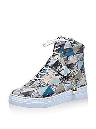 Los Ojo Hightop Sneaker Zene