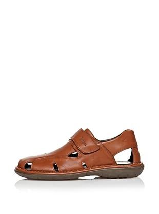 CallagHan Sandalias Velcro (Cuero)