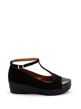 Misu Mary Jane Zapatos Plataforma (Negro)