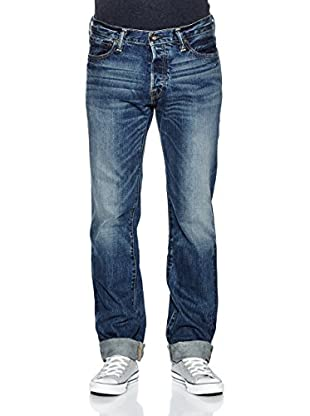 Abercrombie & Fitch Remsen Slim Straight Jeans (dunkelblau)