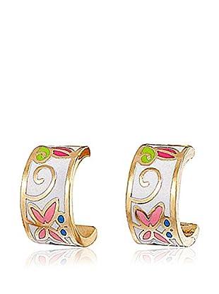 ROSE SALOME JEWELS Ohrringe GE018S vergoldeter Stahl 18 Karat