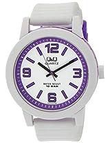 Q&Q Analog White Dial Men's Watch - VR10J012Y