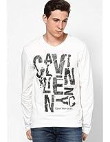White V Neck T-Shirt