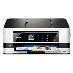 Brother Printer MFCJ4410DW  Business Smart Multi-Function Inkjet and Wireless Color Photo Printer with Scanner, Copier and Fax, Amazon Dash Replenishment Enabled