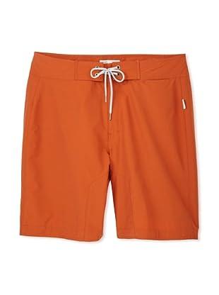 Onia Men's Amaury Board Short (Burnt orange)