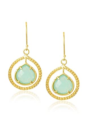 Coralia Leets Peruvian Opal Teardrop Dangle Earrings