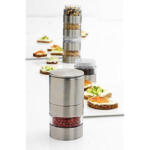 Mastrad Interchangeable Kitchen Spice Mill