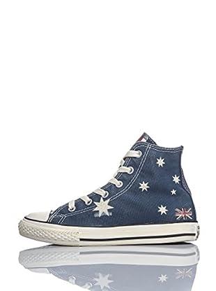 Converse Zapatillas All Star Hi Graphics (Azul)