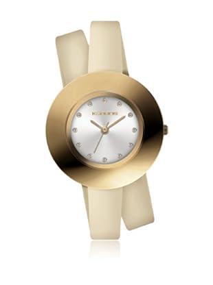K&Bros  Reloj 9187 (Beige)