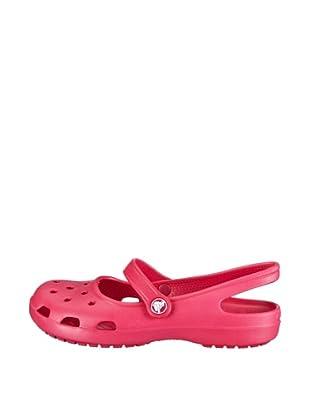 Crocs Zuecos Shayna (Rosa)