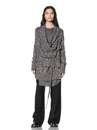 Ann Demeulemeester Women's Slouchy Sweater (Mix Chine)