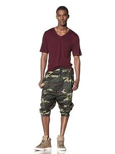 B: Scott Men's Extended Rise Shorts (Camo Green)